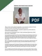 Jlucky Lormarks Afro-ragga Music Creator