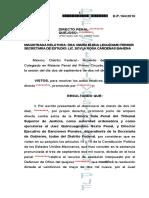 6TC DP 164-10 AUTORIA INDETERMINADA Homicidio calificado
