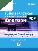 BUENAS PRÁCTICAS DE HIGIENE Y SEGURIDAD PARA IMPRESIÓN 3D - VERSION FINAL