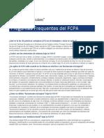 FCPA-FAQs-Spanish