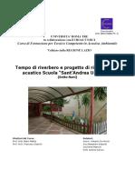 DeNicola-Bassotti-Mancini-Ianora - Tempo di riverbero e risanamento acustico scuola Sette Nani