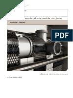 Manual de operación de un intercambiador de calor