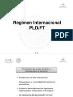 Régimen Internacional Jornada PLD
