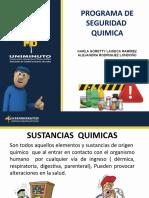 MANEJO DE SUSTANCIAS QUIMICAS Y EPP