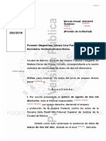 202-18 HOMICIDIO CULPOSO NO DOLOSO RECLUSORIO F128