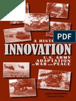 U.S. Army Innovation History