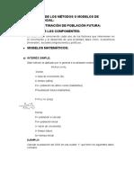 INVESTIGACIÓN DE LOS MÉTODOS O MODELOS DE PROYECCIÓN SOCIAL-DIAZ MERINO LISETH