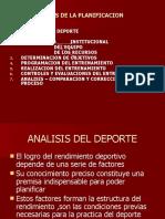 PLANIFICACION FUTBOL DESDE BASE HASTA ALTO NIVEL
