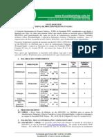 Edital Do Vestibular Itop 2011- Alteracao Da Data