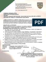 Derecho de Petición a Distriseguridad_solicitud de Alarmas, Botones de Panico y Camaras de Vigilancia