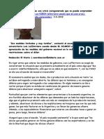 2019-09-03 El Diario Lafferriere señaló que es una crisis autogenerada que no puede sorprender