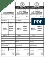 Axis Bank Challan for DNB FINAL Exam Fee 911020036459400