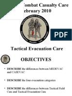 03D Tactical Evacuation Care 100219