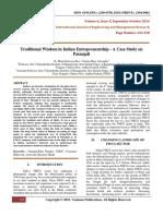 TraditionalWisdomInIndianEntrepreneurshipACaseStudyOnPatanjali(332-338).pdf