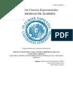Proyecto central hidroeléctrica(1)(2)