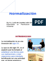 1- NORMALIZACION