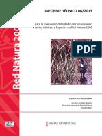 INFORME 06_2013 Guia para la evaluacion estado conservacion RN2000