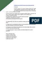GABARITO - EXERCÍCIOS NÍVEIS DE LGG- 22016