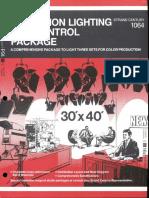 Strand Century Lighting 1064 Television Lighting & Control Package Brochure 6-77