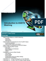 Ansys Mesh Introduction
