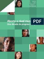Aborto a nivel mundial IAG