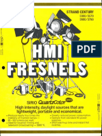 Strand Century Lighting 3360-3570-3680-3790 HMI Fresnels Brochure 6-77