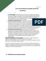 TECNOLOGIA-ACUMULACION DE CAPITAL Y DESARROLLO EC^