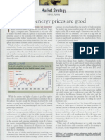 Why Higher Energy Prices Are Good