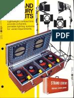Strand Century Lighting Portable Lighting Kits Brochure 6-77