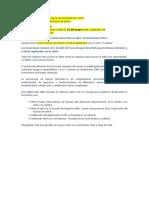 Formalizado El Requisito de La Documentación