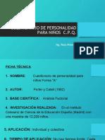 Cuestionario CPQ - ESPQ