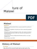 History of Literature in Malawi