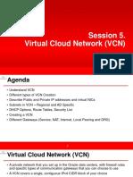 Virtual Cloud Network - VCN