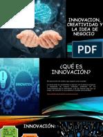 INNOVACION, CREATIVIDAD Y LA IDEA DE NEGOCIO