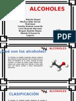 presentación alcoholes