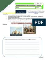 taller 1.1 Manifestaciones literarias del Descubrimiento y la Conquista. OCTAVO
