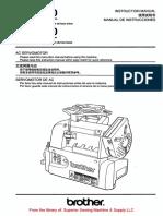 Brother MD-6020, -6120 AC Servomotor Instruction Manual.pdf