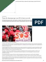 Taxa de desemprego nos EUA bate recorde _ Notícias e análises sobre a economia brasileira e mundial _ DW _ 08.05.2020