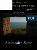 Comment creer sa realite en 7 j - Alexandre Surin