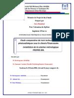 Etude Comparative de Trois Tec - HAMDANI Sara_3486