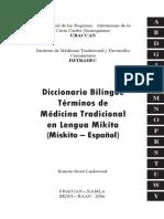 Dicionario Miskitu