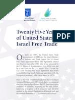 25 Years of US–Israel Free Trade