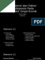BLOK 20 - Prevalensi dan Faktor Predisposisi Pada Penyakit Ginjal Kronik