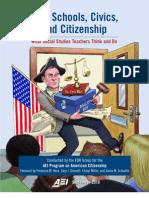 High Schools Civics Citizenship Full Report