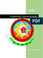 Purposive Communication Notes