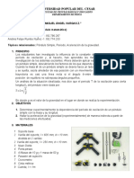 INFORME DE LABORATORIO PENDULO SIMPLE.docx
