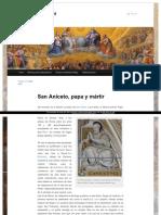 San Aniceto de Nicomedia