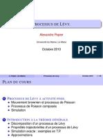 Processus de Levy 2