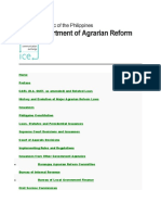 AGRARIAN REFORM LAW AND JURISPRUDENCE  A DAR-UNDP SARDIC PUBLICATION
