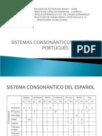 10 SISTEMA CONSONÁNTICO ESPANOL PORTUGUES